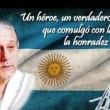 dr.favaloro y bandera argentina