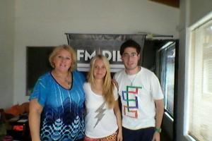 MARISA EN RADIO 10.FUNES.